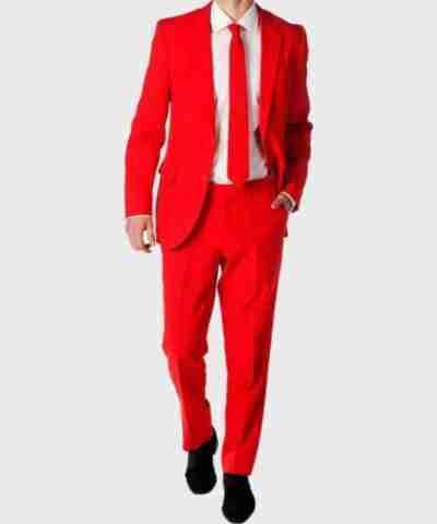 Men's Red Devil Suit