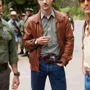 Narcos Steve Murphy Leather Bomber Jacket