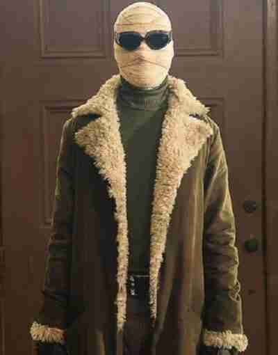 Negative Man Doom Patrol Trench Coat