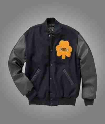 Notre Dame Rudy Irish Bomber Jacket