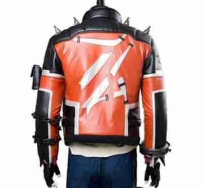 Overwatch Slasher 76 Halloween Leather Jacket