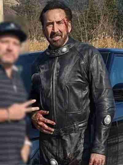 Prisoners of the Ghostland Nicolas Cage Black Jacket