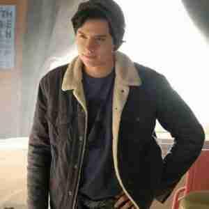 Riverdale Cole Sprouse Black Denim Jacket