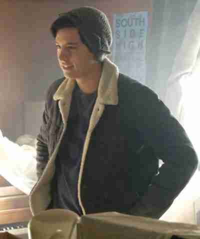 Riverdale Cole Sprouse Black Jacket