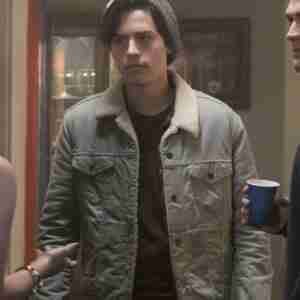 Riverdale Cole Sprouse Grey Denim Jacket