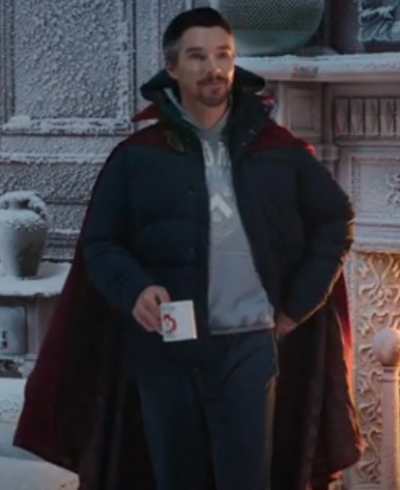 Spider-Man Benedict Cumberbatch blue Jacket