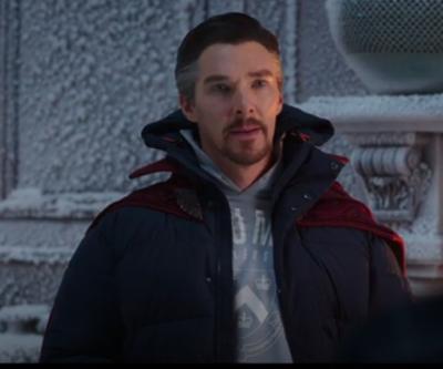 SpiderMan 2021 Benedict Cumberbatch blue Jacket