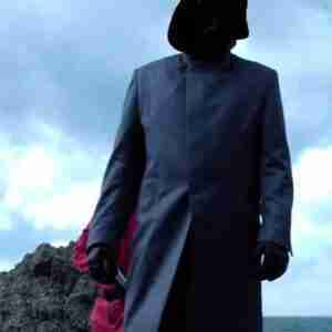 Squid Game Frontman Long Grey Coat