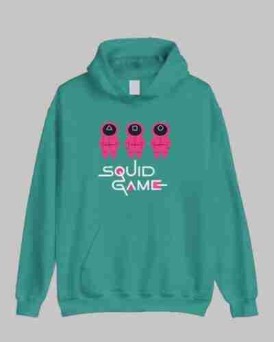 Squid Game Green Hoodie