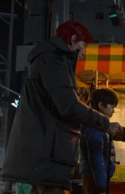 Squid Game Lee Jung-jae Coat