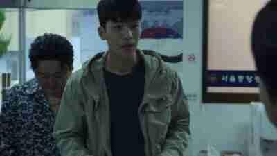Squid Game Wi Ha-Joon Khaki Jacket