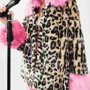 The Baby-Sitters Club Mallory Pike Leopard Jacket