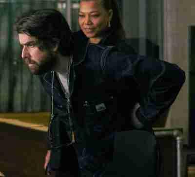 The Equalizer Season 2 Adam Goldberg Black Denim Jacket