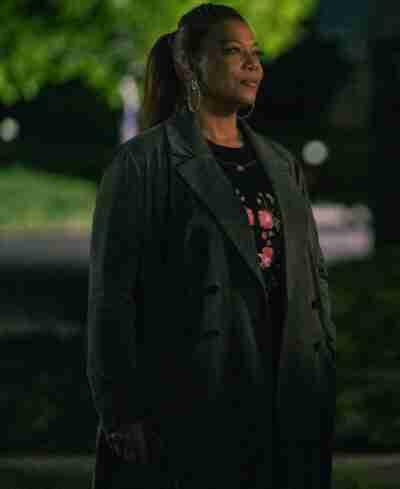 The Equalizer Season 2 Queen Latifah Grey Trench Coat
