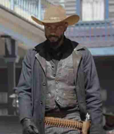 The Harder They Fall 2021 Lakeith Stanfield Coat