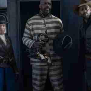 The Harder They Fall Idris Elba Prisoner Jacket