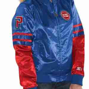 Women Starter Detroit Pistons Jacket