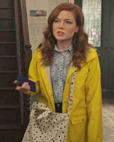 Zoeys Extraordinary Playlist Rain Coat